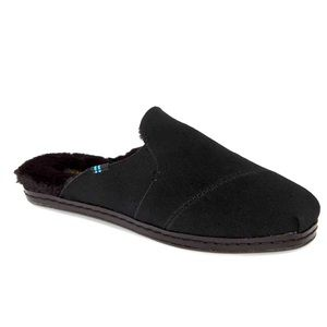 NWB TOMS Nova Faux Fur Lined Slip On Mule